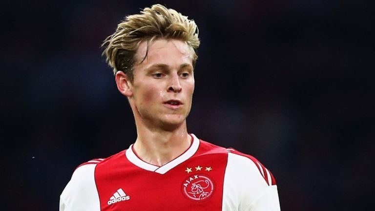Frenkie De Jong was sold for a staggering fee