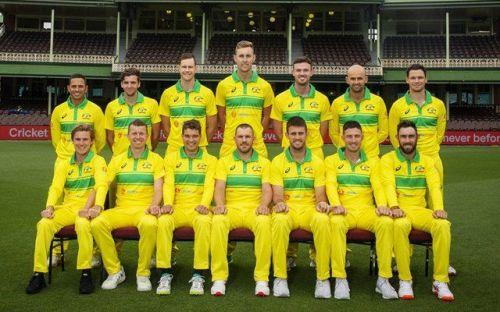 Australia's New ODI Jersey