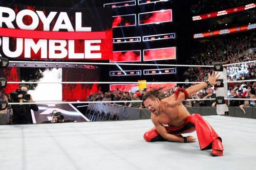 Shinsuke Nakamura was a surprise winner at last year's Royal Rumble event