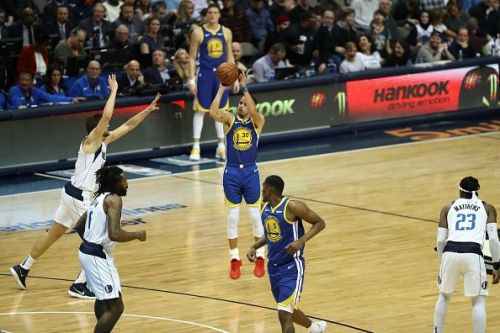 Golden State Warriors v Dallas Mavericks