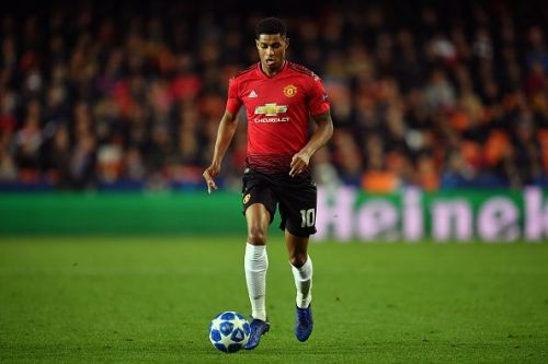 Rashford is playing at a high level for United