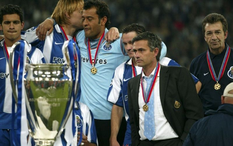 Mourinho won his first Champions League trophy with FC Porto