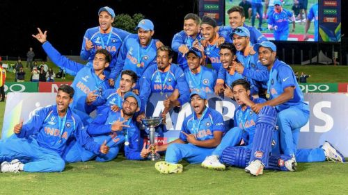 India emerged champions at the Under-19 WC