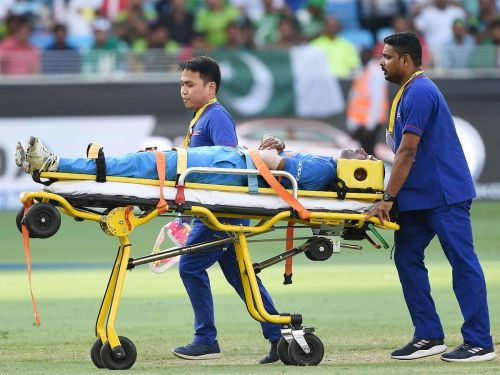 Cricketers who injuried on their debut match