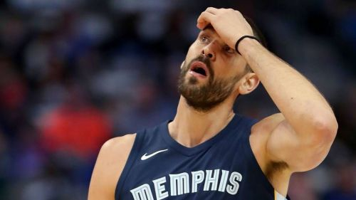 Marc Gasol is playing his 11th season in Memphis this year.