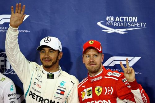 Vettel and Hamilton have won nine titles between them