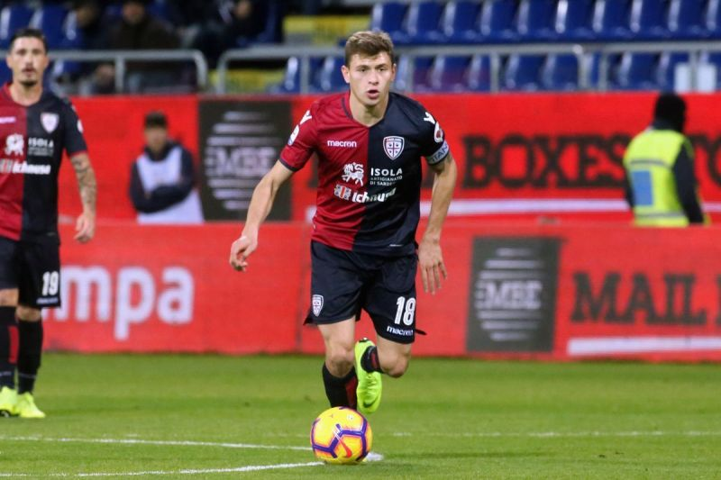 Nicolo Barella already has 4 caps for Italy