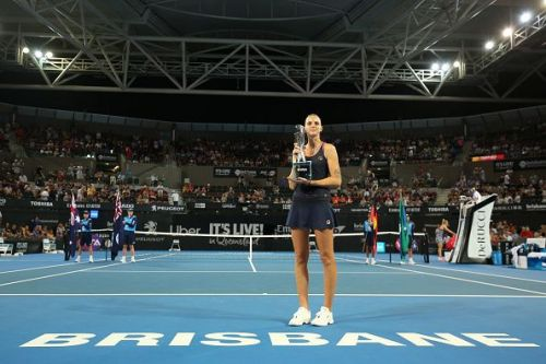 Karolina Pliskova at 2019 Brisbane International - Day 8