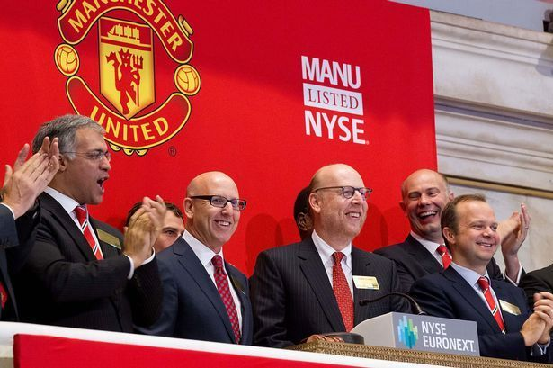The Glazer brothers at the center of a United function