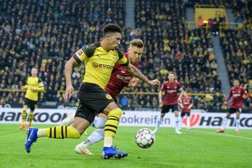 England's teenage star Jadon Sancho has made a big impression in the Bundesliga