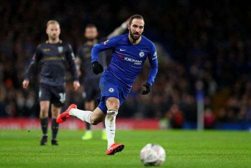Gonzalo Higuain has teamed up yet again with Maurizio Sarri