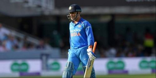 M.S.dhoni failed to make a mark