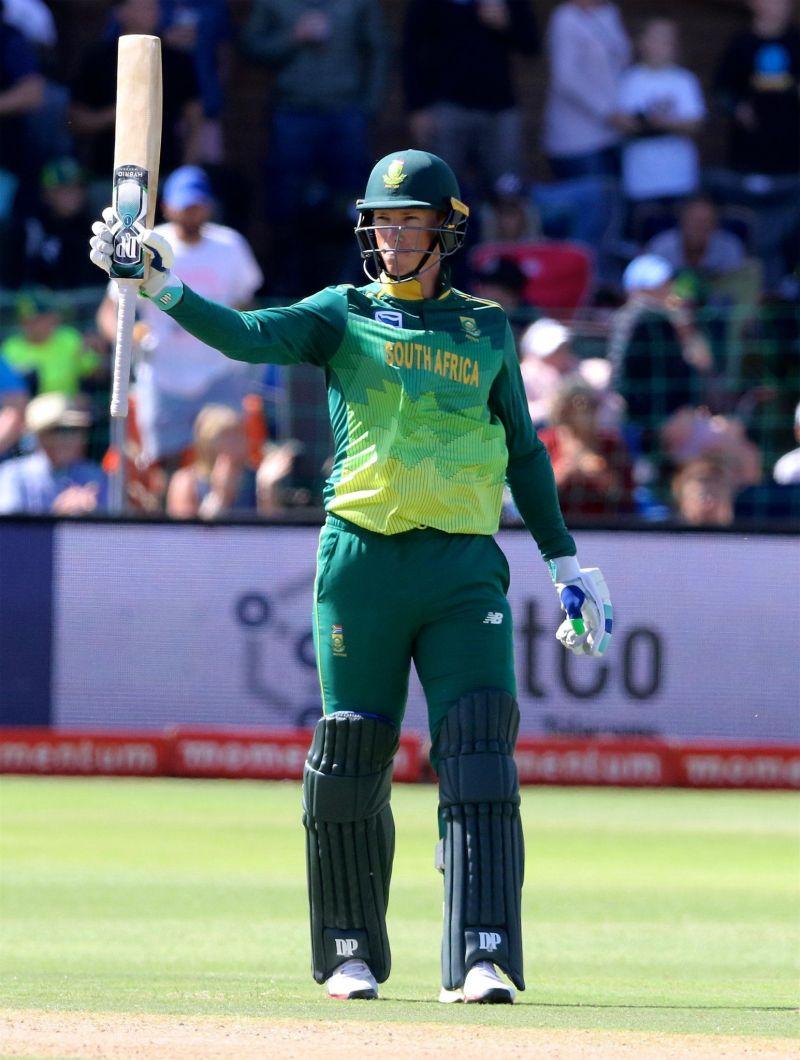 Rassie van der dussen debut 93 runs knock