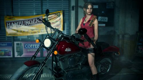 Claire Redfield in Resident Evil 2 Remake