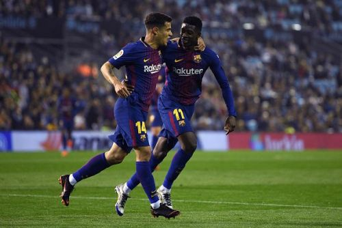 Barcelona superstars - Philippe Coutinho and Ousmane Dembele