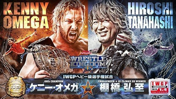 Hiroshi Tanahashi defeated Kenny Omega in the main event of Wrestle Kingdom 12