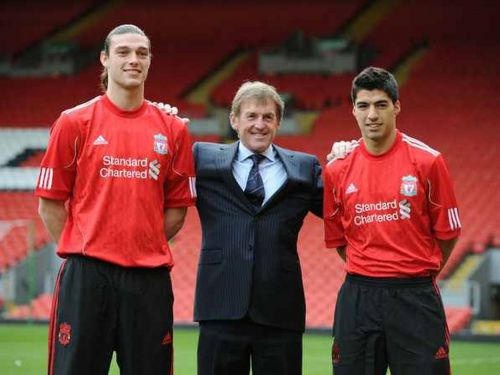 Liverpool signed the duo of Andy Carroll and Luis Suarez in the January window of 2011