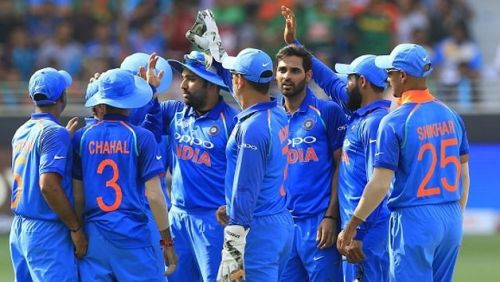 The Indian team last won an ODI series in Australia in 2008.