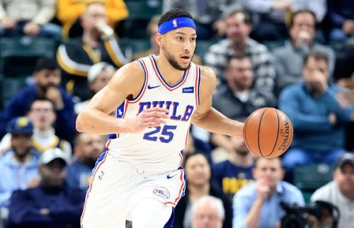Ben Simmons registered a double-double in the loss against the Nuggets