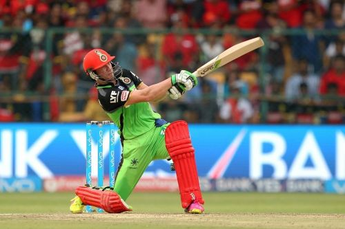AB de Villiers, though retired now is as lethal as he was.