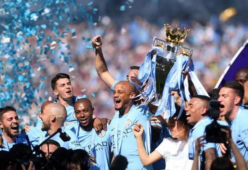 Manchester City is the most successful Premier League club in the past eight years