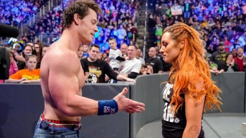 Becky and Cena
