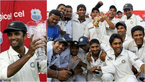 India won a test series in West Indies after 35 years
