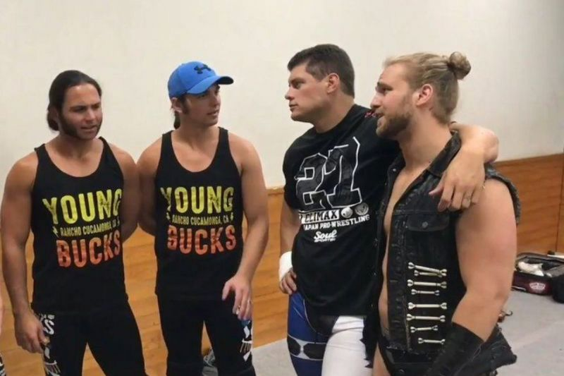 Several members of 'The Elite' are signed to AEW