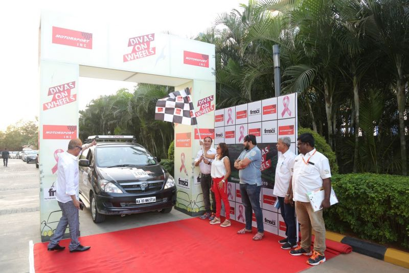 Diva on Wheels - Flagged off from Bengaluru