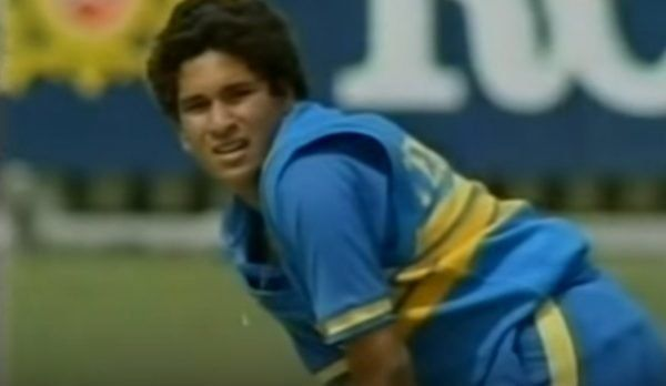 It was Sachin Tendulkar