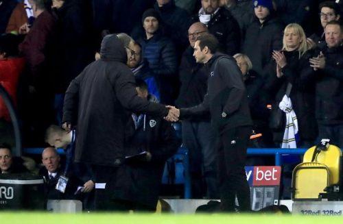 Bielsa's Leeds beat Lampard's Derby 2-0