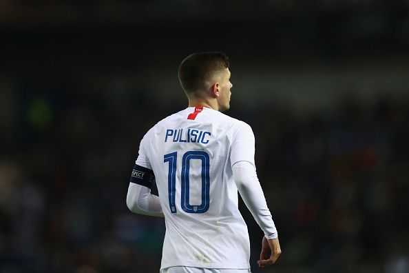 Pulisic has 23 caps for the American National Football Team