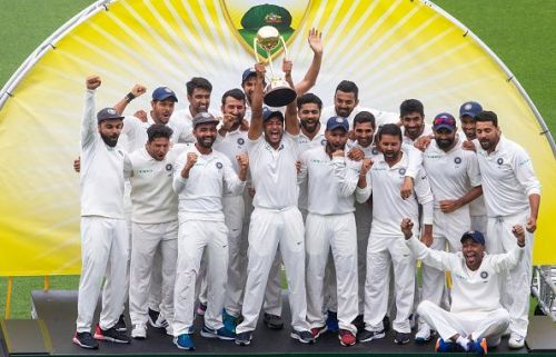 India became the first Asian team to win a Test series on Australian soil