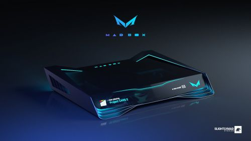 Proposed design for the Mad Box console (via Twitter)