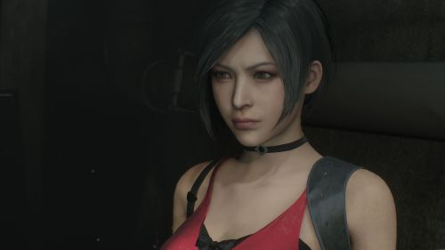 Ada Wong in Resident Evil 2 Remake