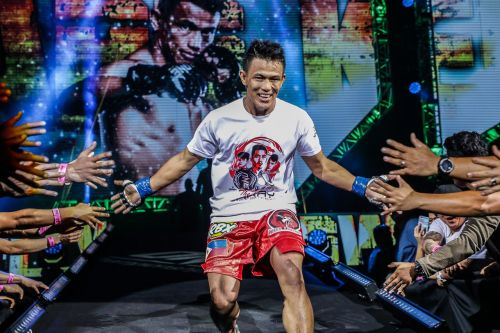"""The hard-hitting striker is set to clash with former ONE Featherweight World Championship challenger Christian """"The Warrior"""" Lee"""