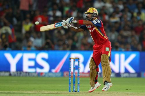 Mandeep Singh in action for RCB