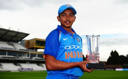 The captain of India's U19 CWC winning team made his international debut in 2018