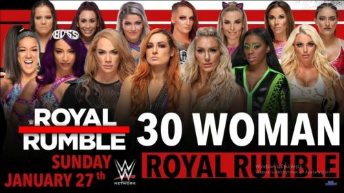 Who will win the second annual women's Royal Rumble match?