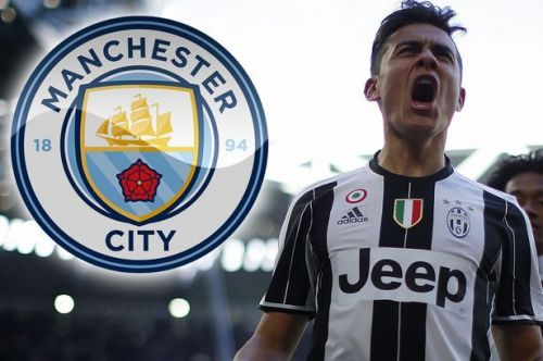 Dybala has emerged as one of Man City's transfer targets.