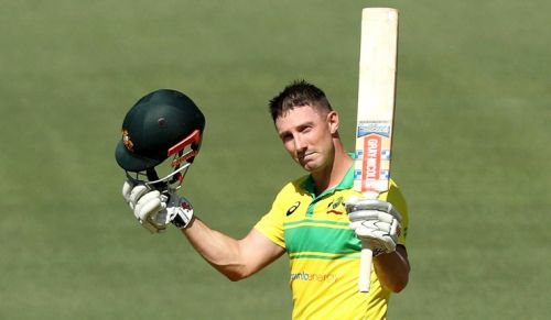 Shaun Marsh ended the series as the leading run scorer
