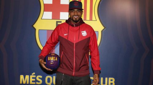 Kevin-Prince Boateng arrived at Barcelona in one of football's strangest transfers