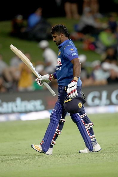 Kusal Perera scored a magnificent hundred but it went in vain