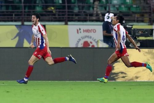 Garcia's goal was not enough to salvage a win for ATK [Image: ISL]
