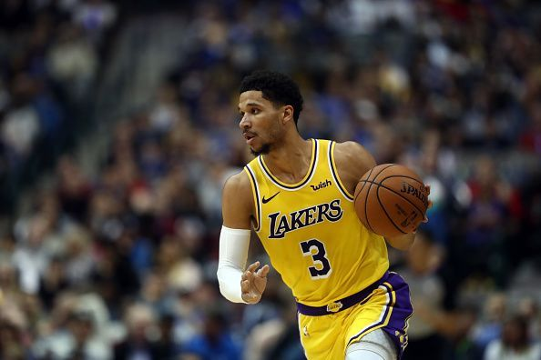 Josh Hart is not shooting well from the 3PT line