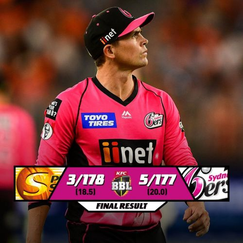 Sytney Sixers Vs Perth Scorchers