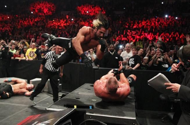 This was a star-making performance from Seth Rollins