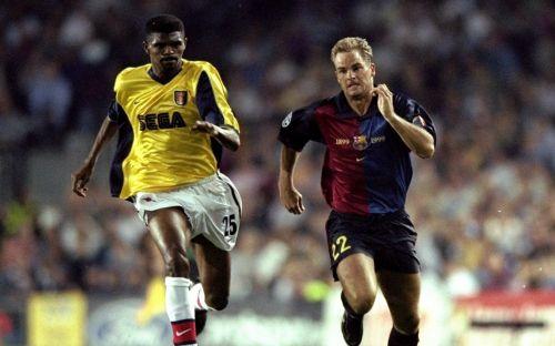 Frank De Boer signed for Barcelona in 1999