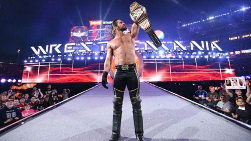 Seth Rollins with the 'Heist of the Century'