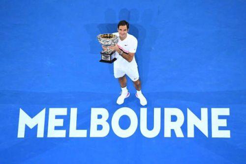 2018 Australian Open winner Federer